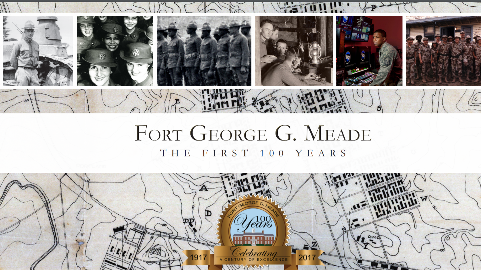 Fort Meade centennial book celebrates service and supports military families