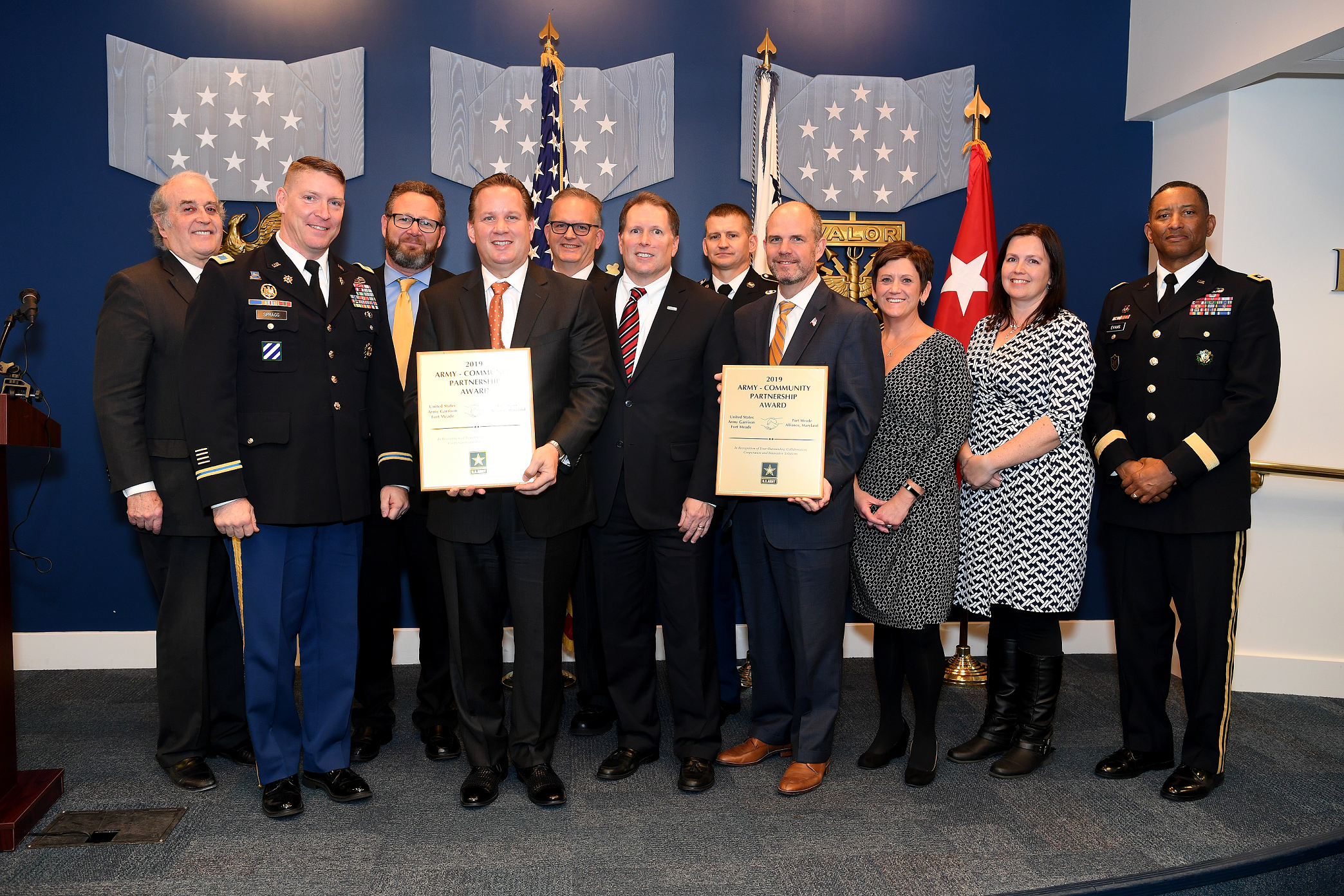 Army honors FGGM and FMA for its partnership